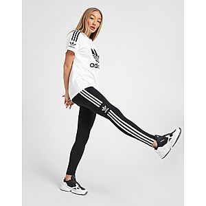 best authentic aed59 41619 adidas Originals 3-Stripes Trefoil Leggings Donna ...