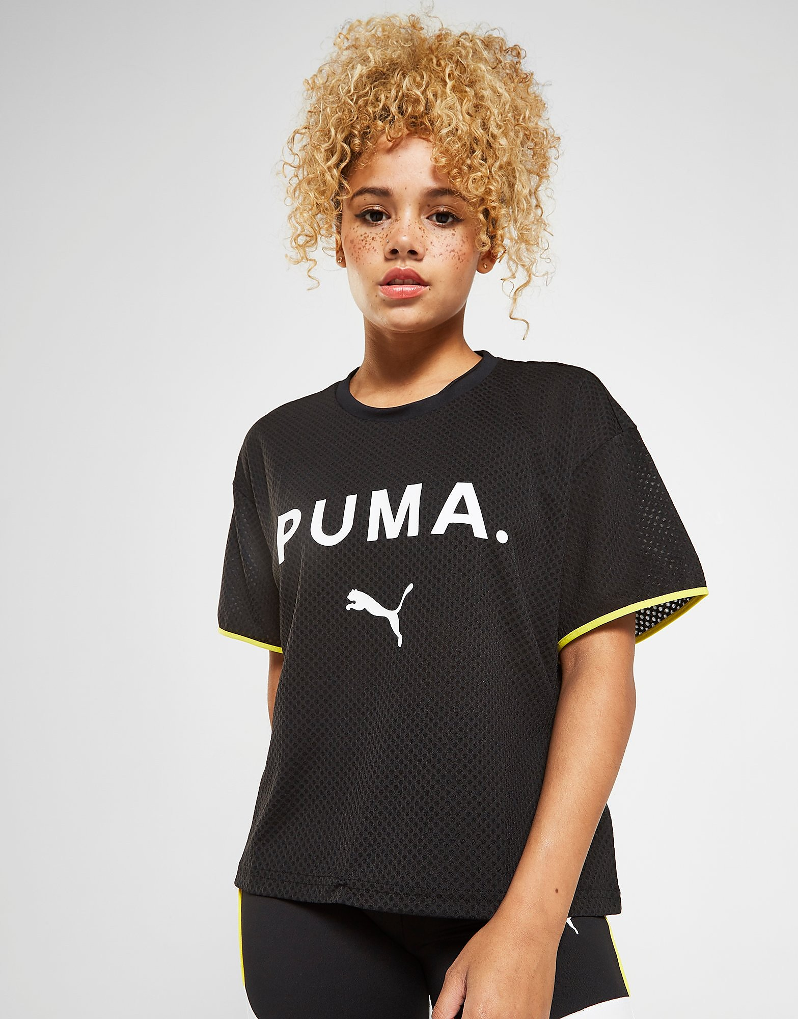 PUMA Chase Mesh T-Shirt Donna