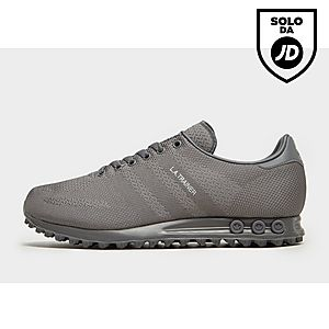 watch feeb0 2fb43 adidas Originals LA Trainer Woven ...