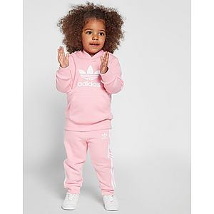 low priced 2caf6 26e30 adidas Originals Girls  Adicolour Overhead Tracksuit Infant ...