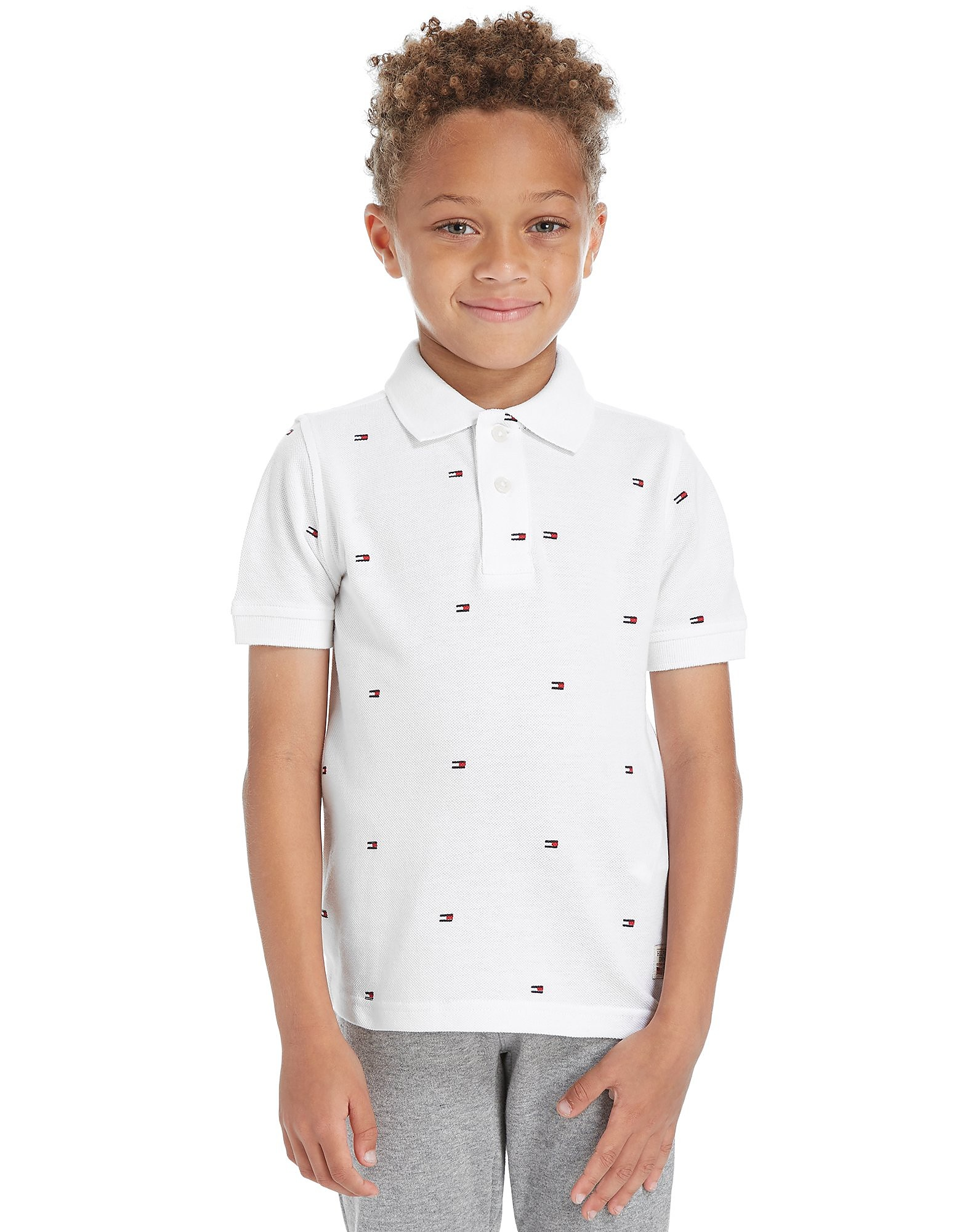 Tommy Hilfiger Repeat Flag Polo Shirt Children