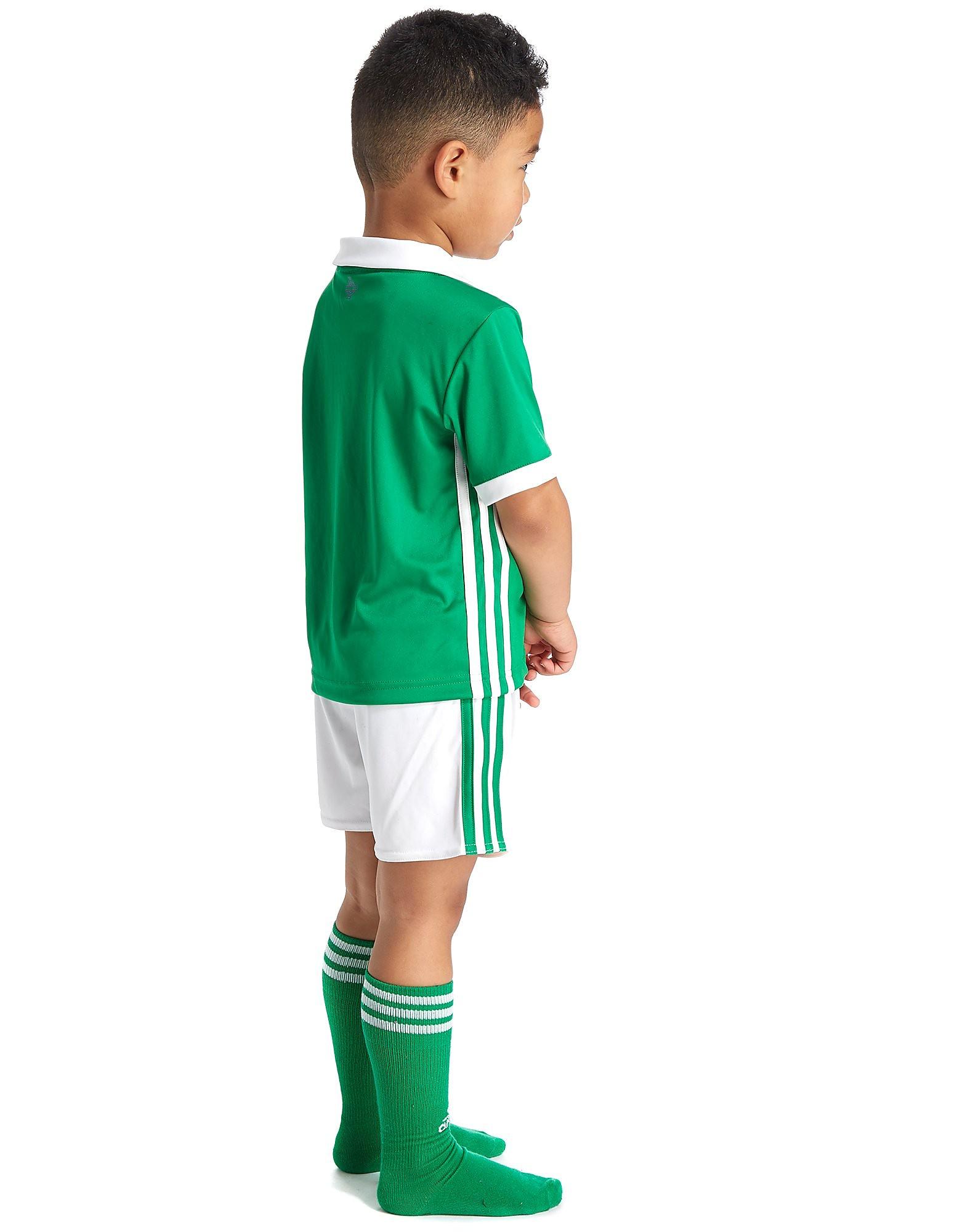 adidas Irlanda del Nord 2017/18 Completo Home Bambino