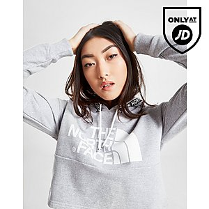 354db9a716ce2 The North Face Tape Crop Hoodie ...