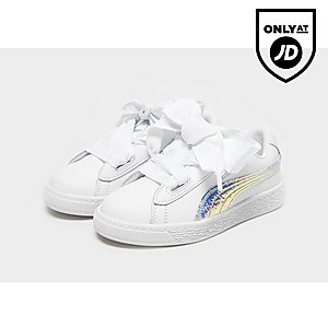 6f35cb5cb3628e PUMA Basket Heart Children PUMA Basket Heart Children