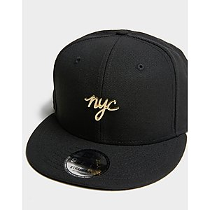 2bcc065d8130e ... NEW ERA CAP CO 9Fifty NYC Metal Badge Cap