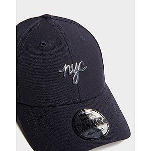 94eb951e43937 ... NEW ERA CAP CO 9FORTY NYC Metal Badge Cap