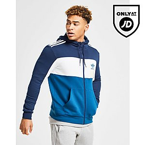 b3f9045611e7 adidas Originals Originals ID96 Full Zip Hoodie ...