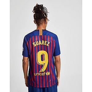 3e0b9c8db Nike FC Barcelona 2018 19 Suarez  9 Home Shirt ...