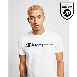 60889c816c Champion Core Script T-Shirt ...