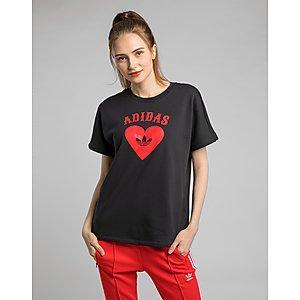 superior quality 8dc35 598e1 ... ADIDAS Valentines Day T-shirt Womens