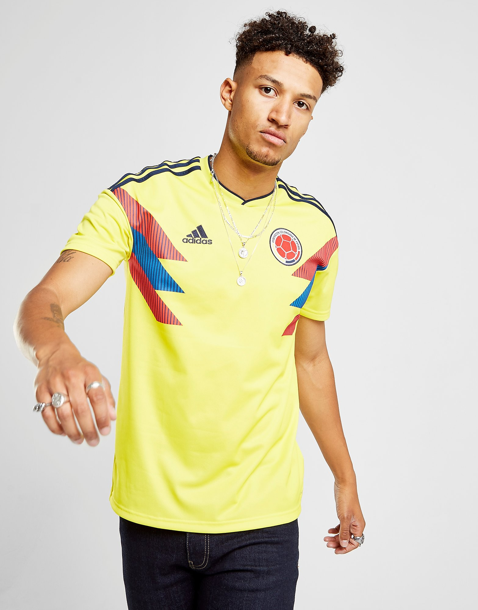 adidas Colombia 2017/18 Home Shirt Heren