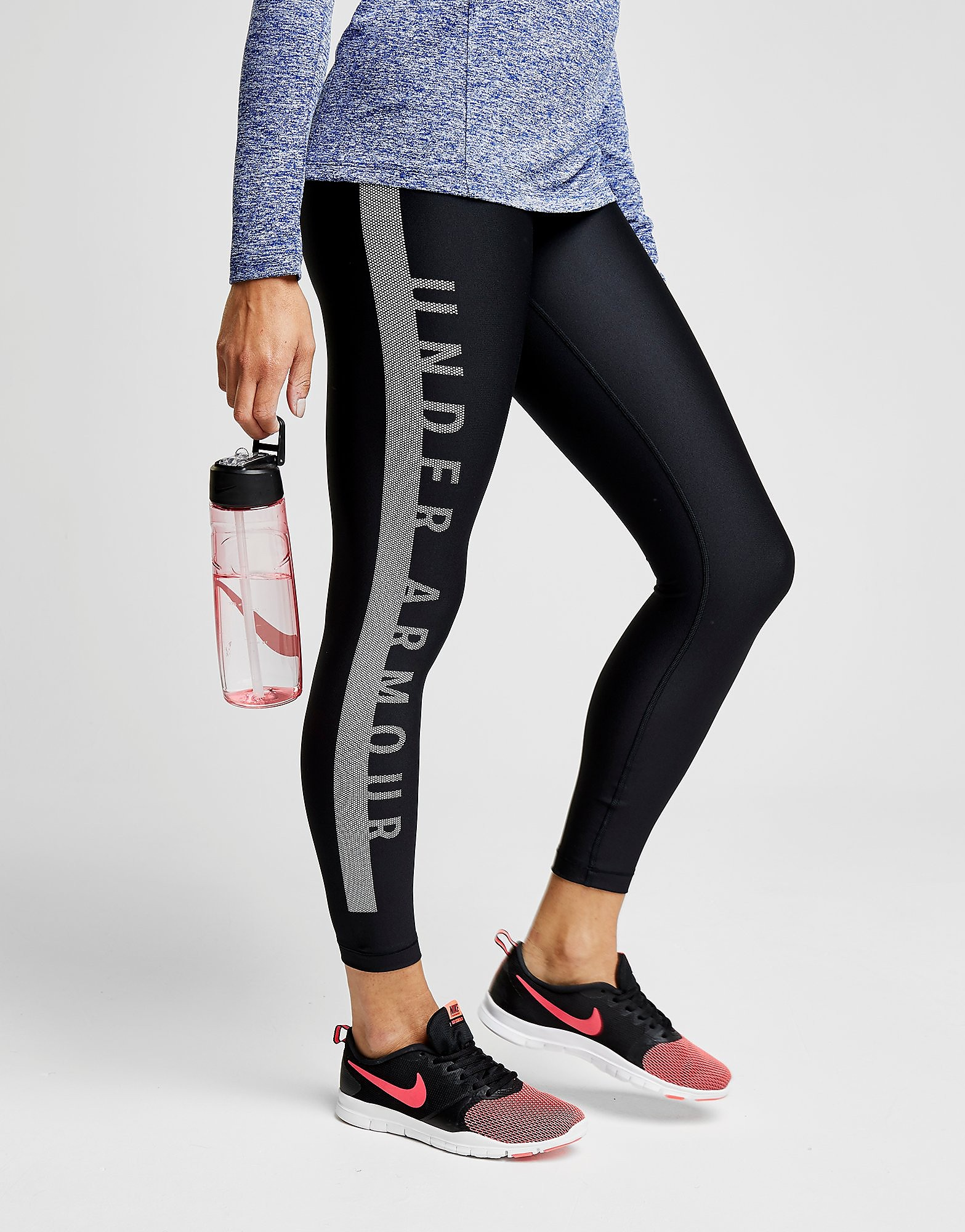 Under Armour Panel Cropped Leggings Dames