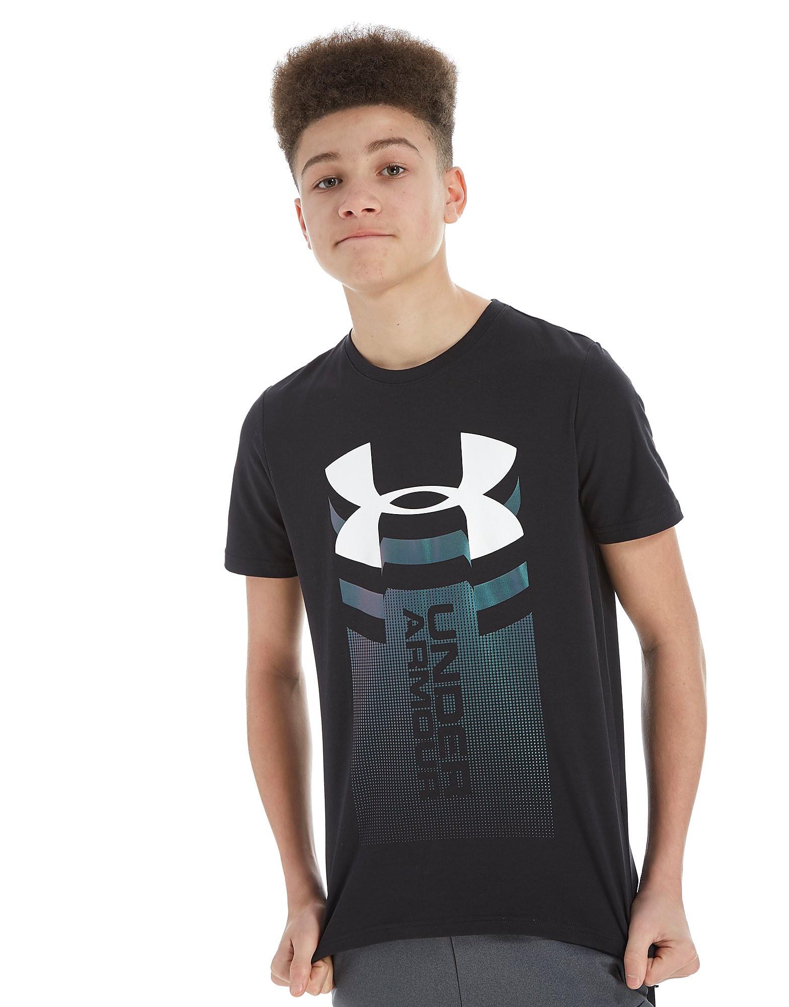 Under Armour Vertical Logo T-Shirt Junior