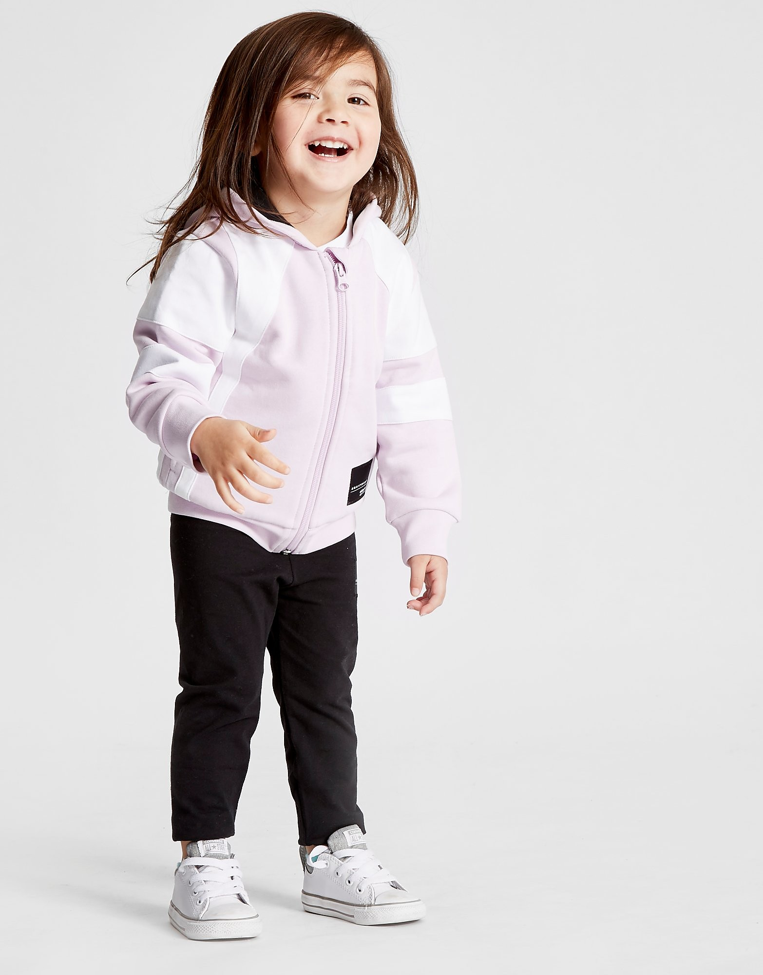 adidas Originals Girls' EQT Hoodie & Leggings Set Baby's