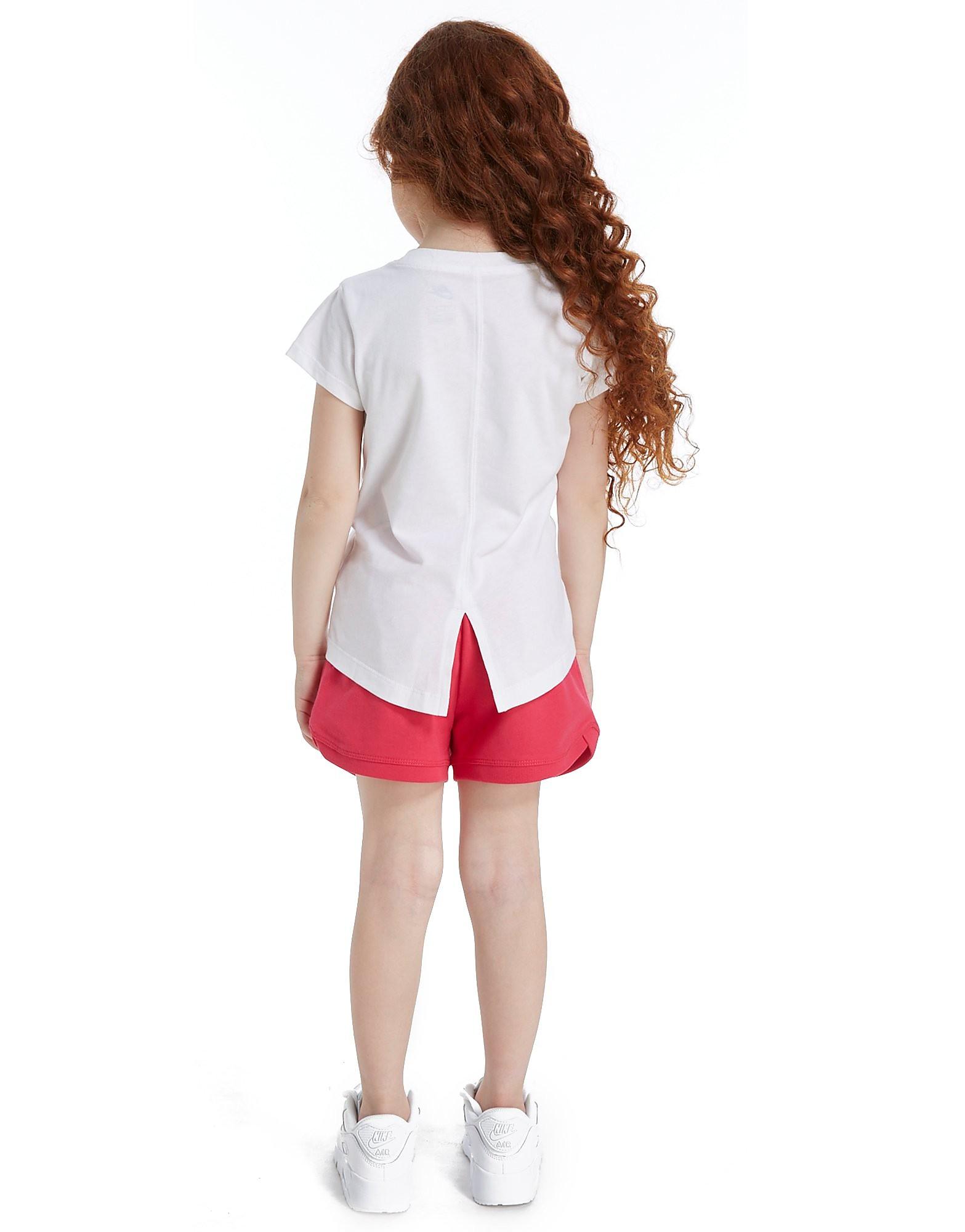 Nike Girls' Futura T-Shirt/Shorts Set Kinderen