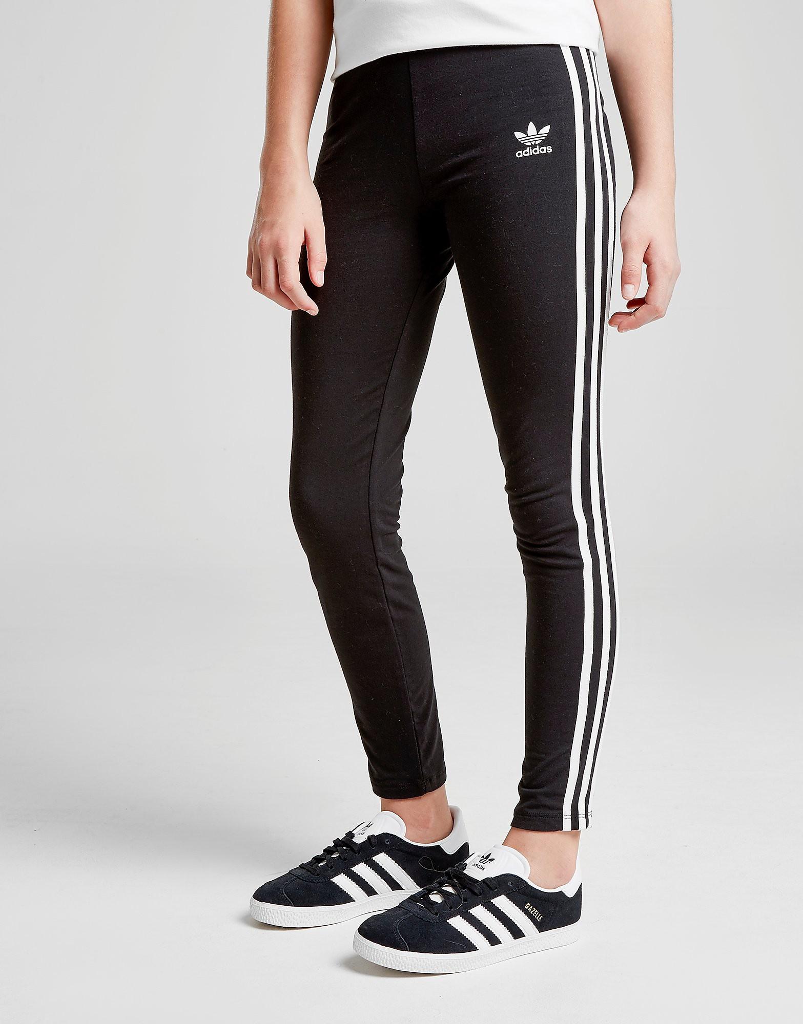 adidas Originals Girls' Trefoil 3-Stripes Leggings Junior