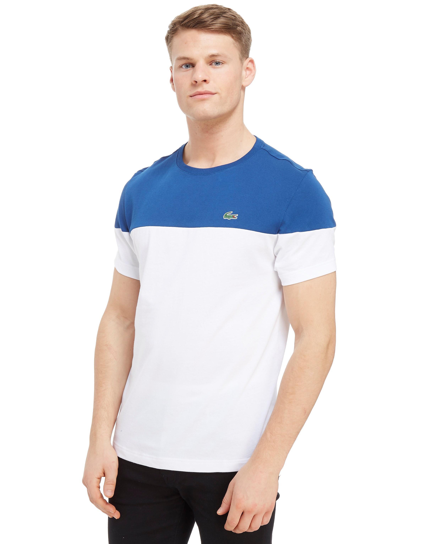 Lacoste Upper Panel T-Shirt Heren