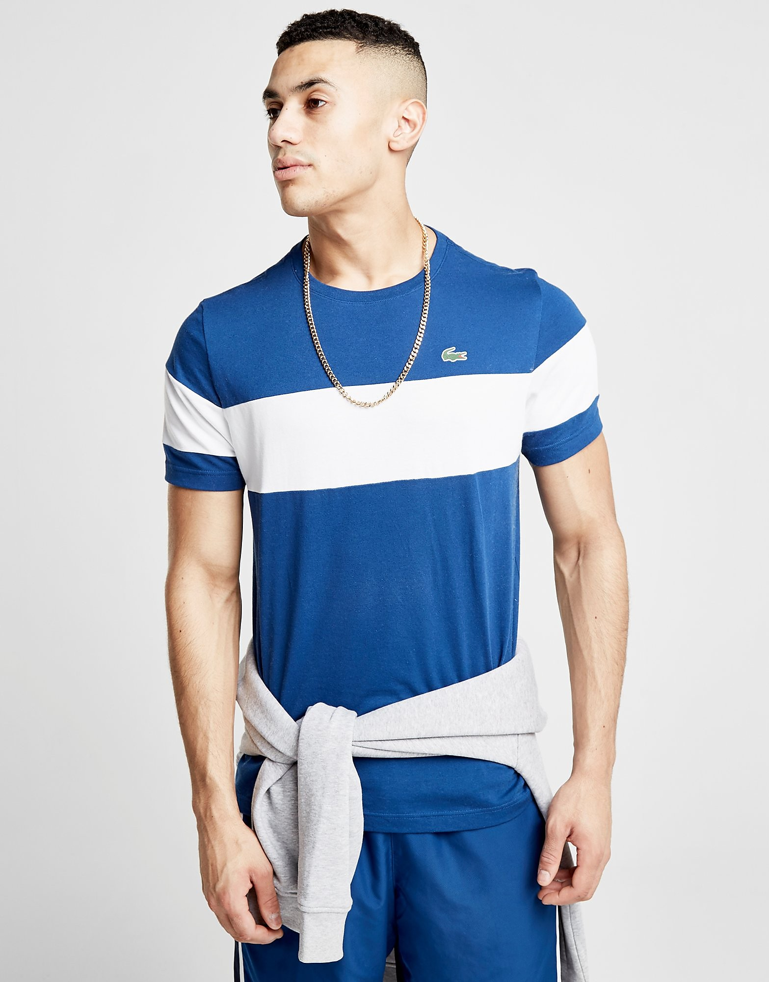 Lacoste Central Panel T-Shirt Heren