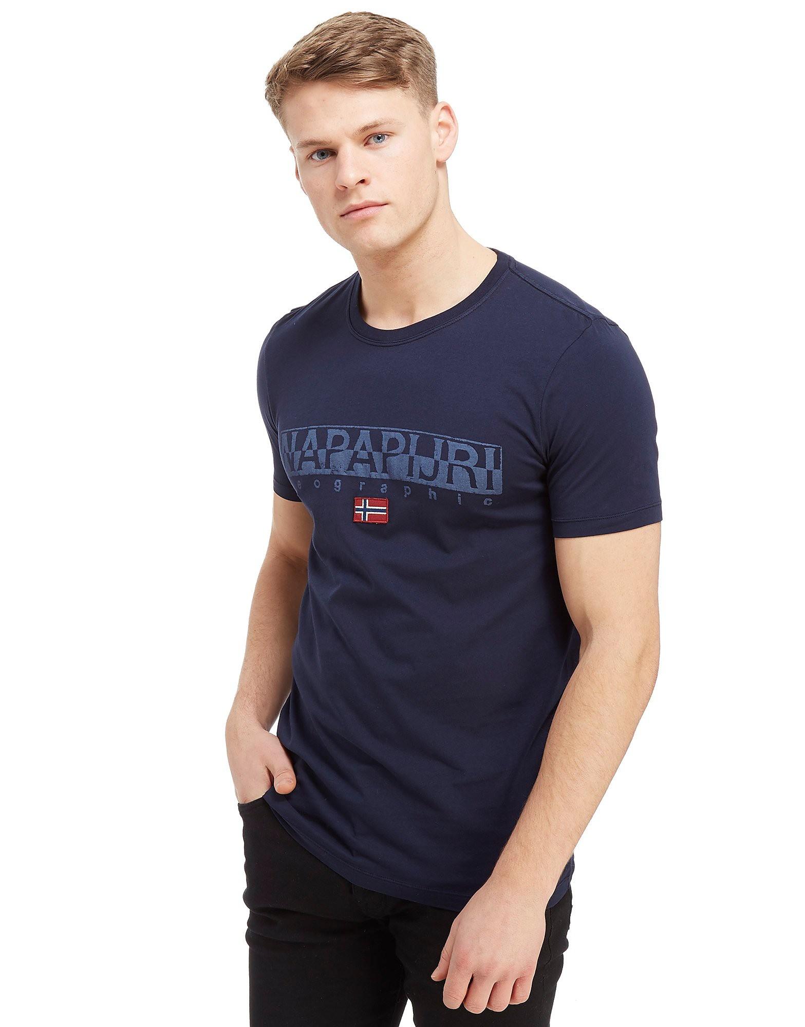 Napapijri Sapriol Core Short Sleeve T-Shirt Heren