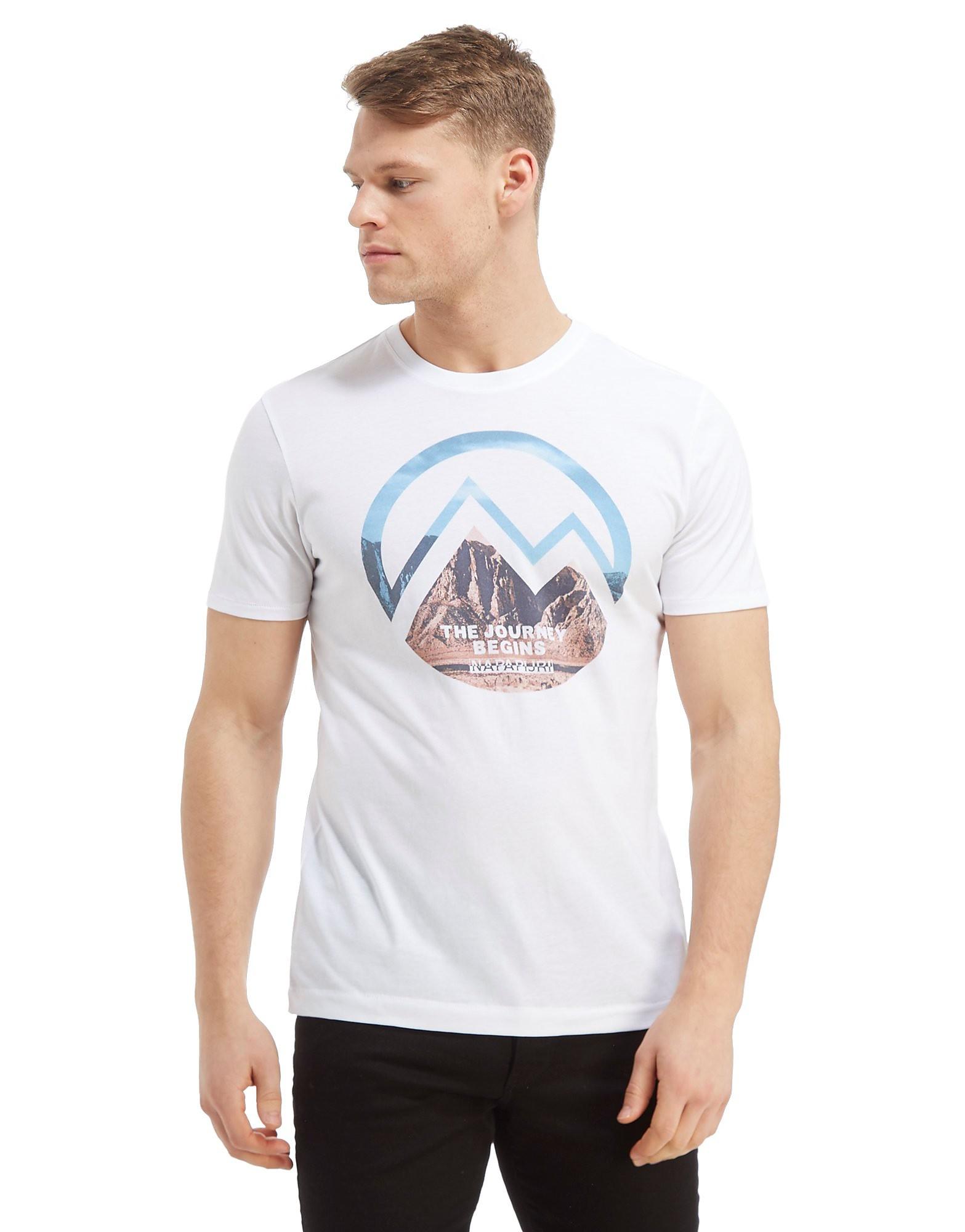 Napapijri Mountain Graphic T-Shirt Heren