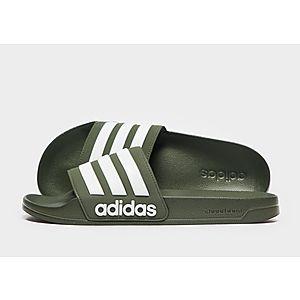 hot sale online 7c0b0 be885 adidas Cloudfoam Adilette Slides Heren ...