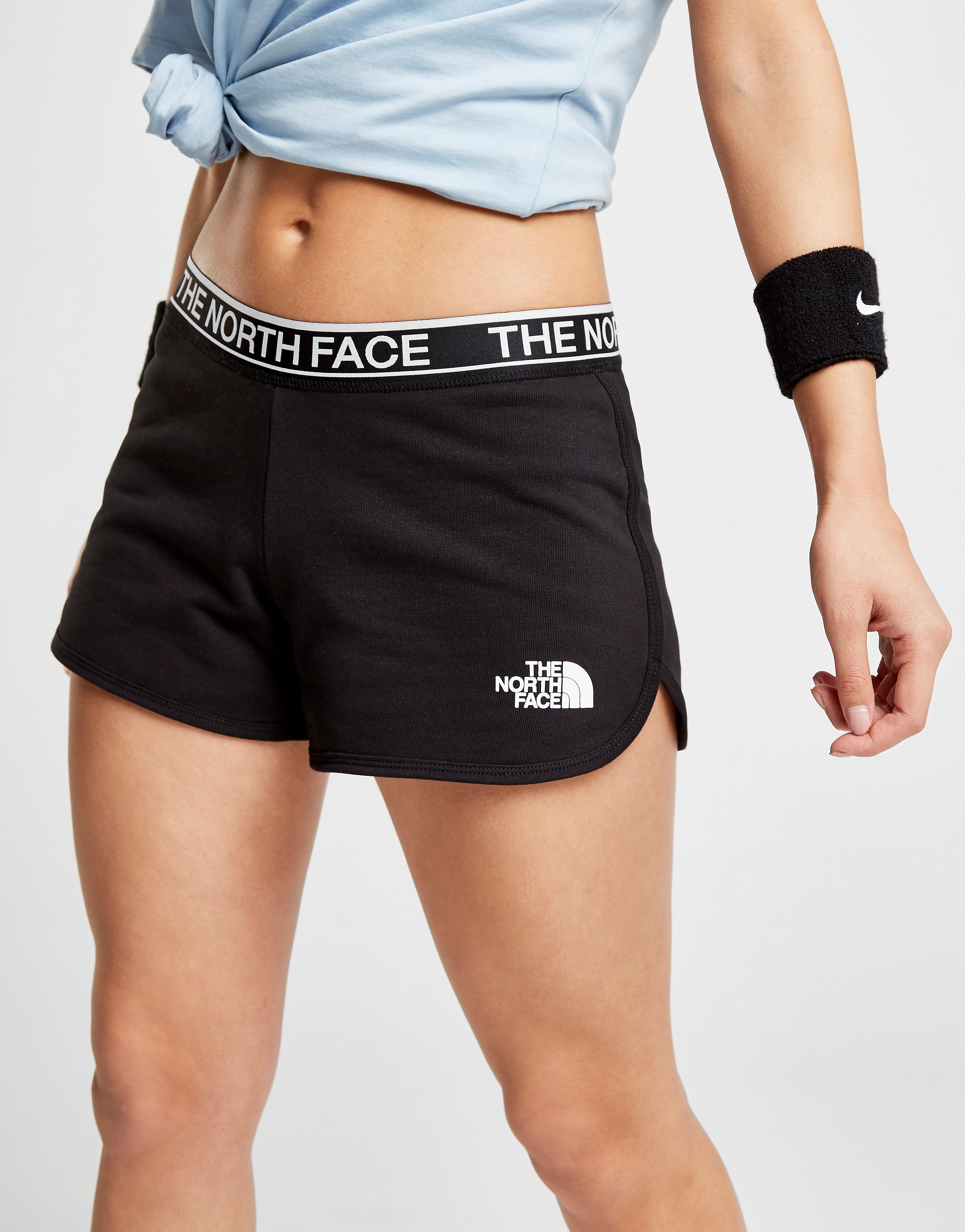 The North Face Tape Fleece Shorts Dames