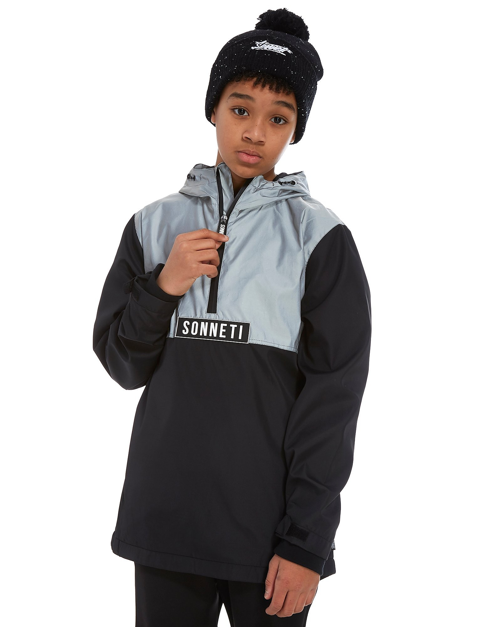 Sonneti Cyber 1/2 Zip Overhead Jacket Junior