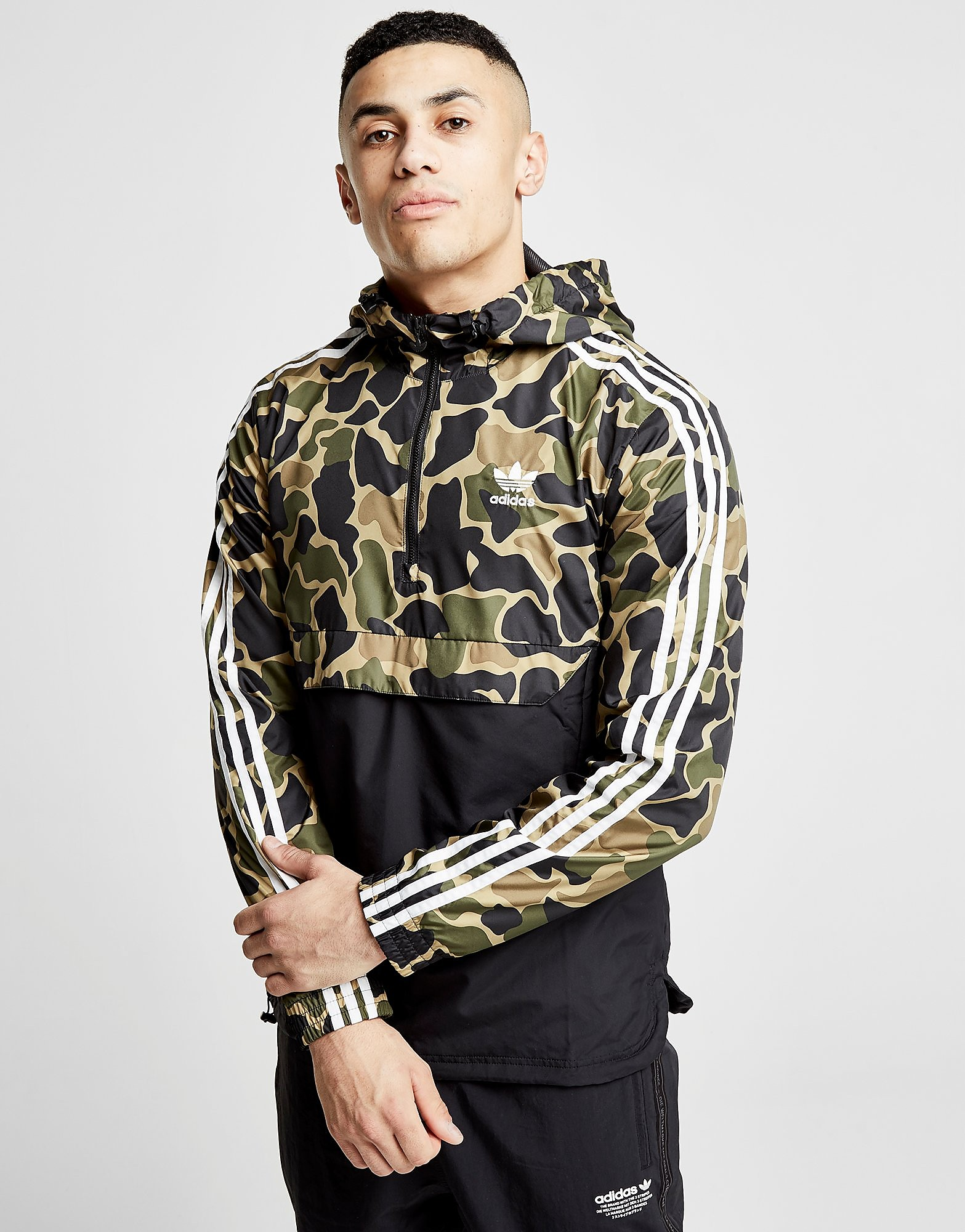 adidas Originals Trefoil 1/2 Zip Jacket Heren