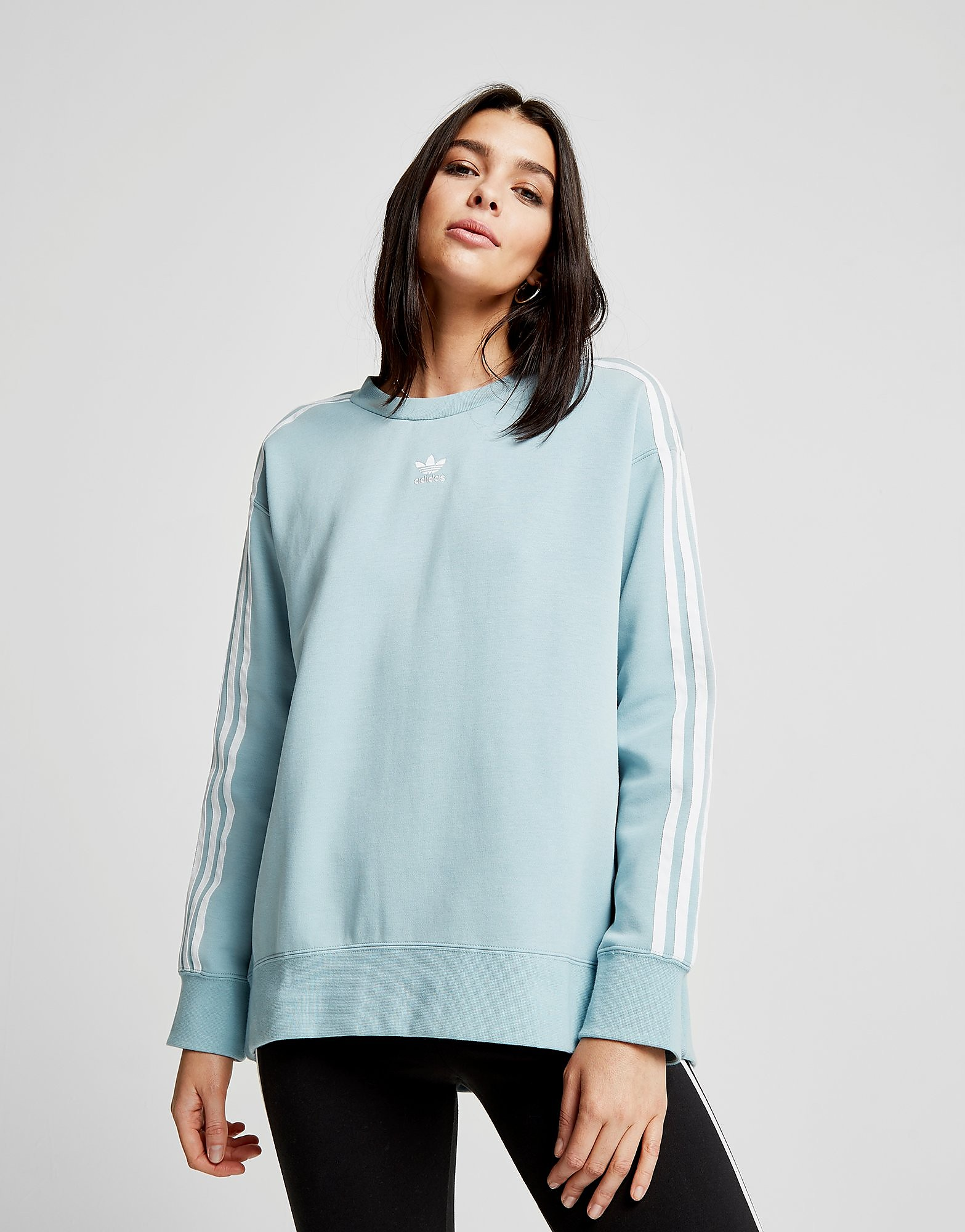 adidas Originals 3-Stripes Crew Sweatshirt Dames