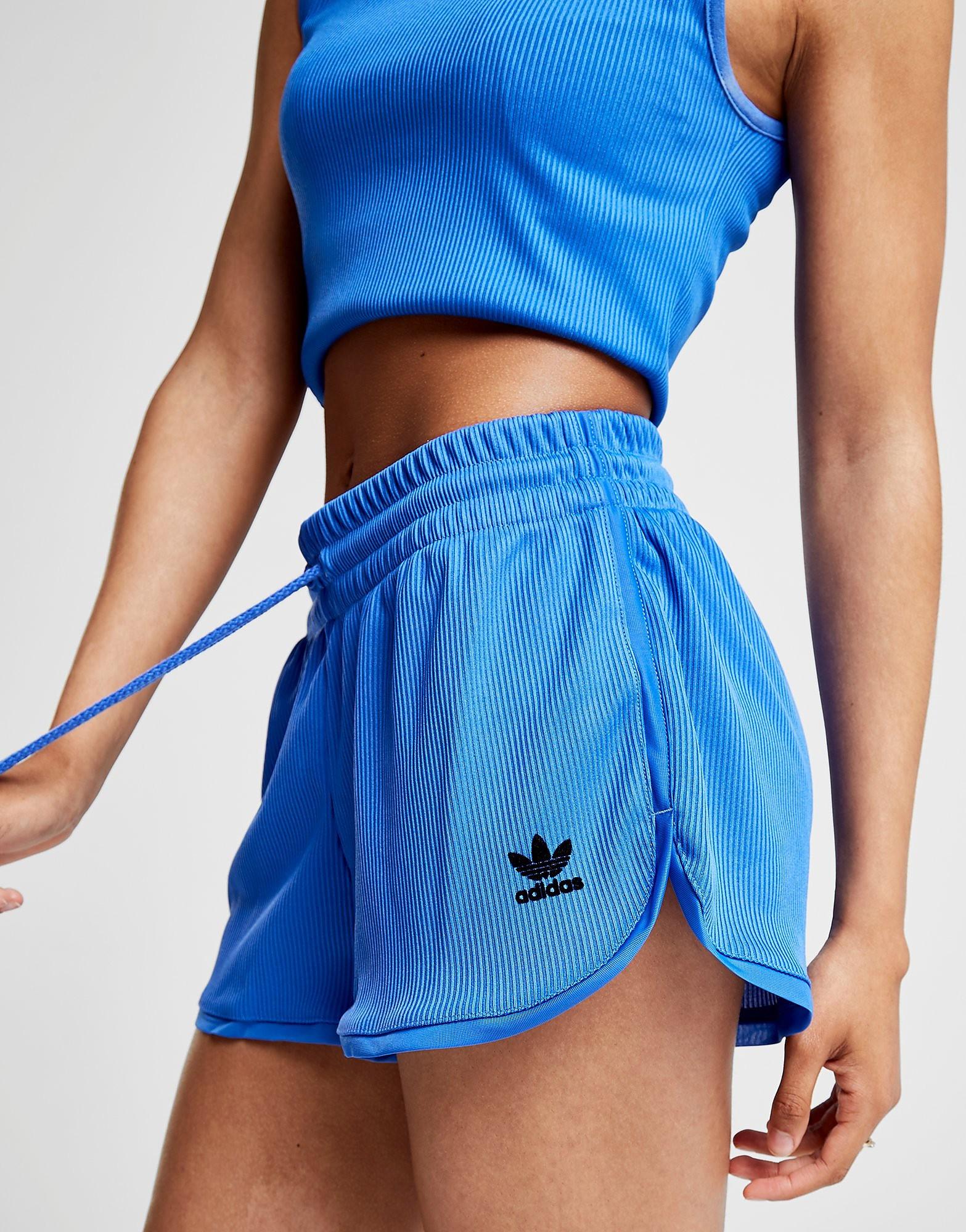 adidas Originals Ribbed Shorts Dames