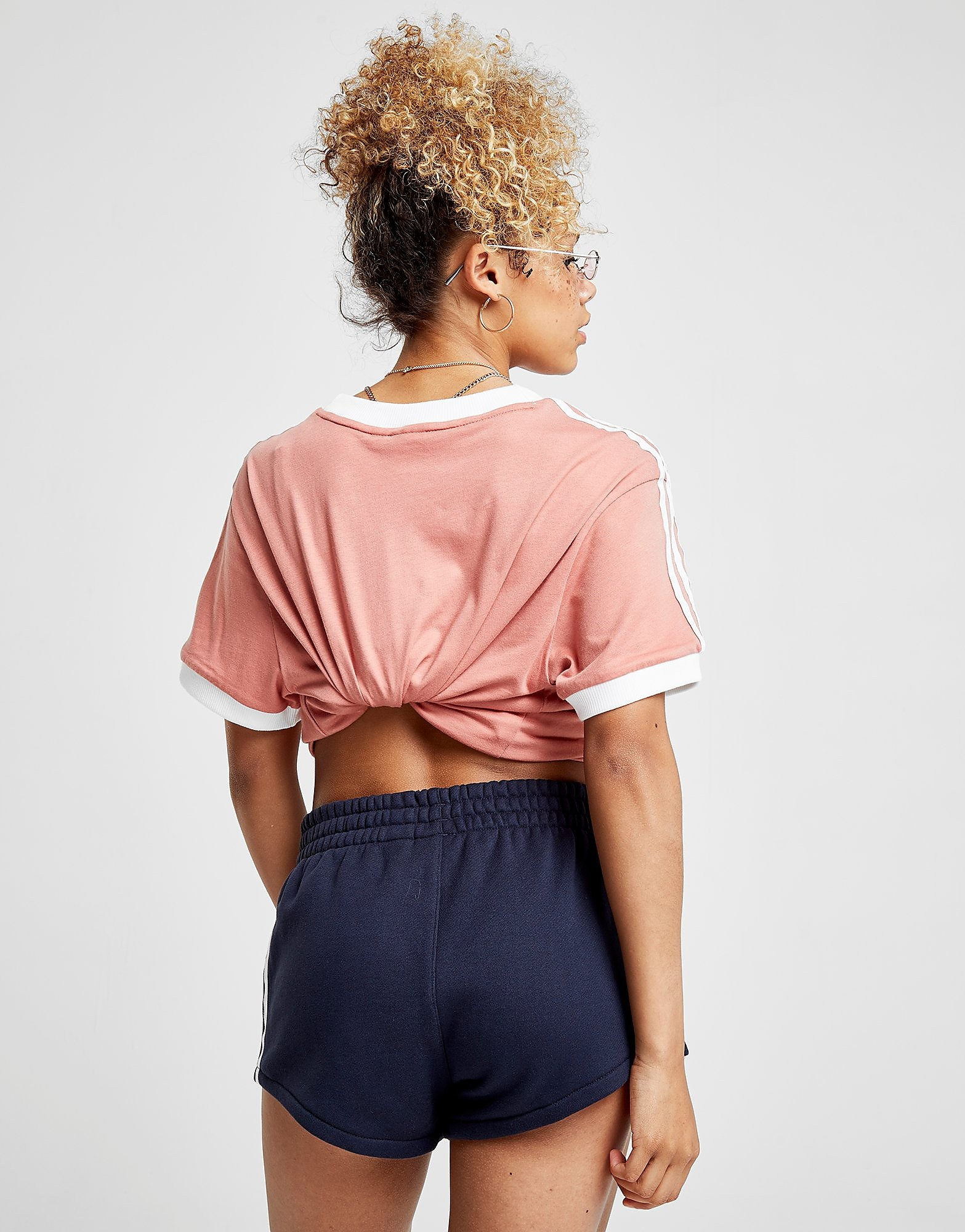 adidas Originals 3-Stripes Terry Shorts Dames