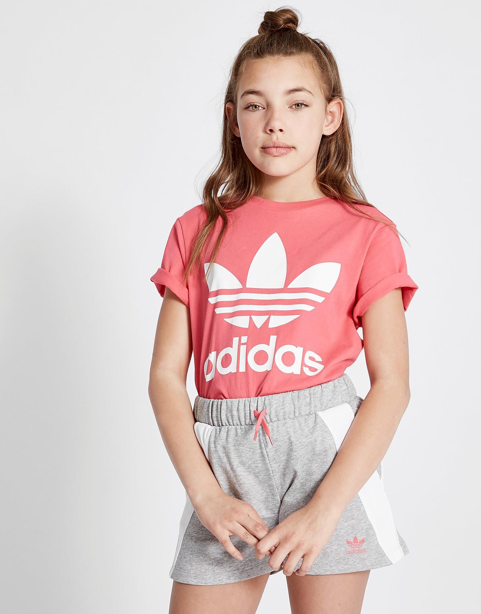 adidas Originals Girls' Adicolor T-Shirt Junior