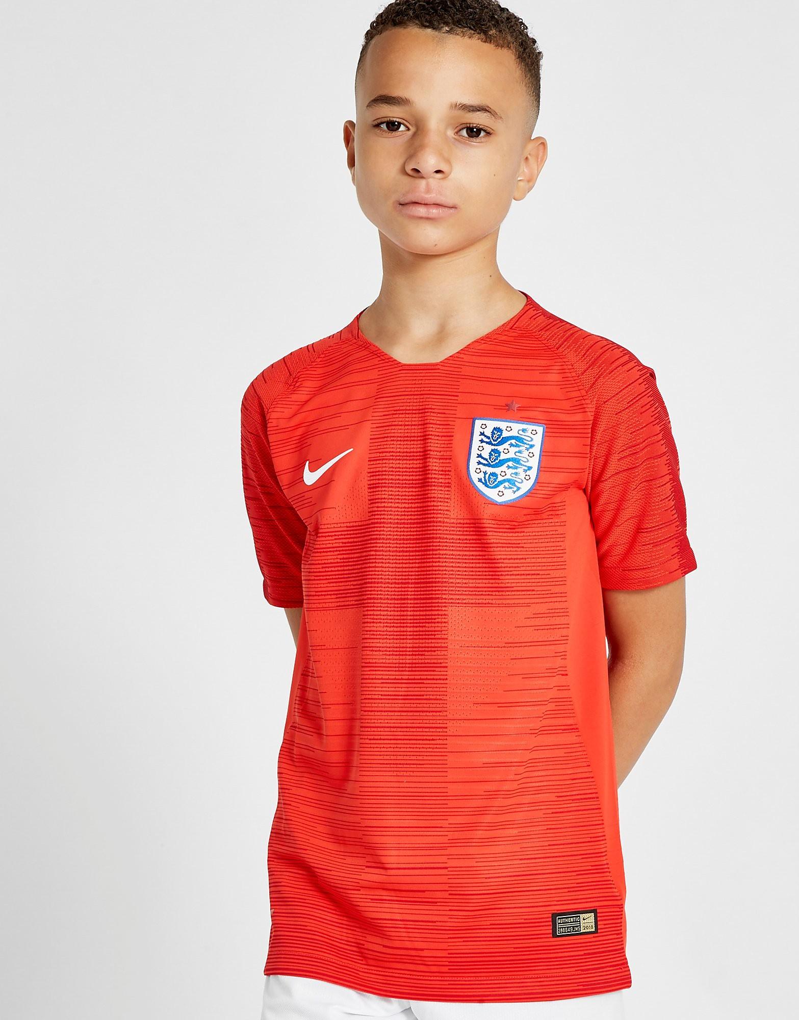 Nike England 2018 Away Vapor Shirt Junior PRE ORDER