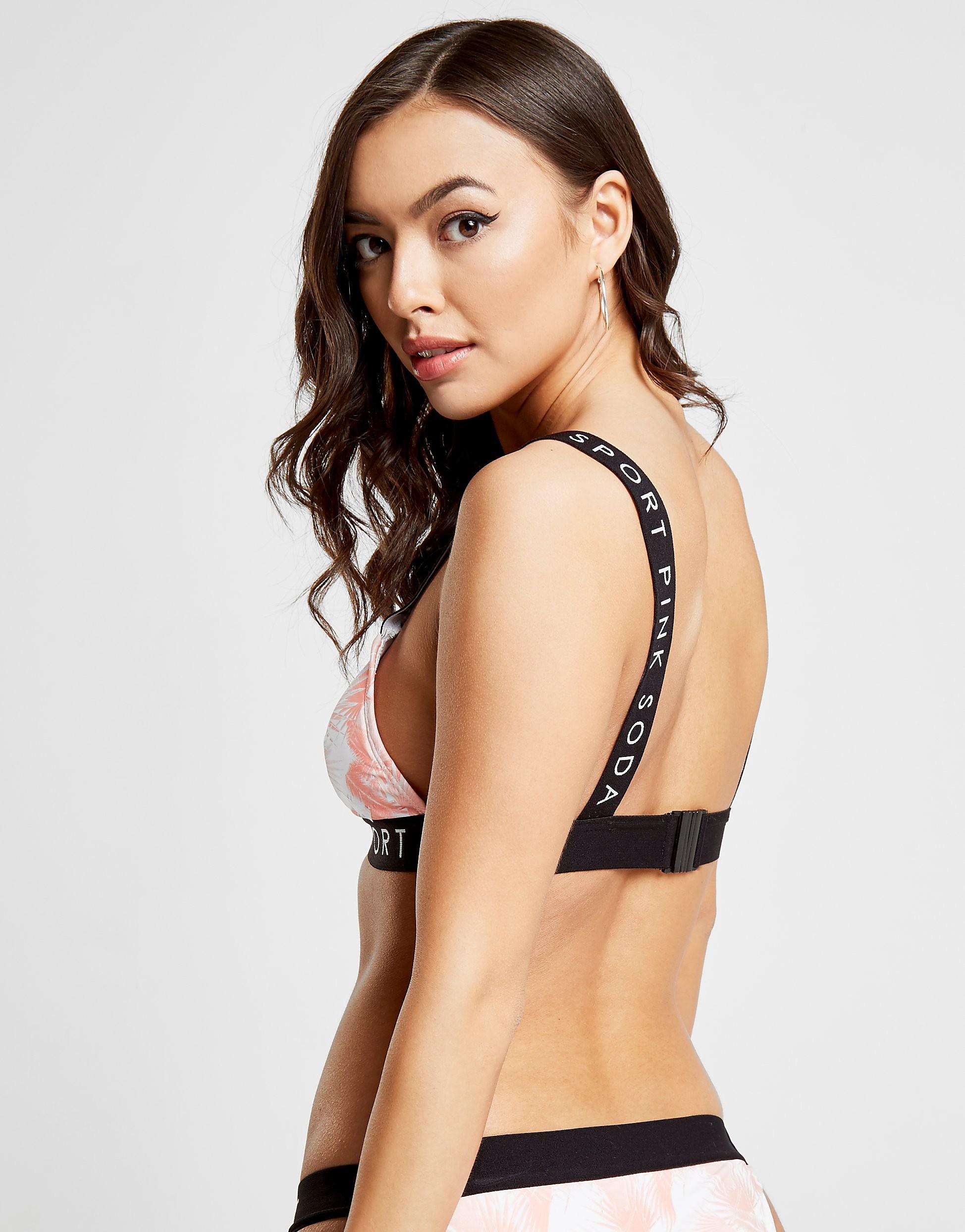 Pink Soda Sport Tropical Bikini Top Dames