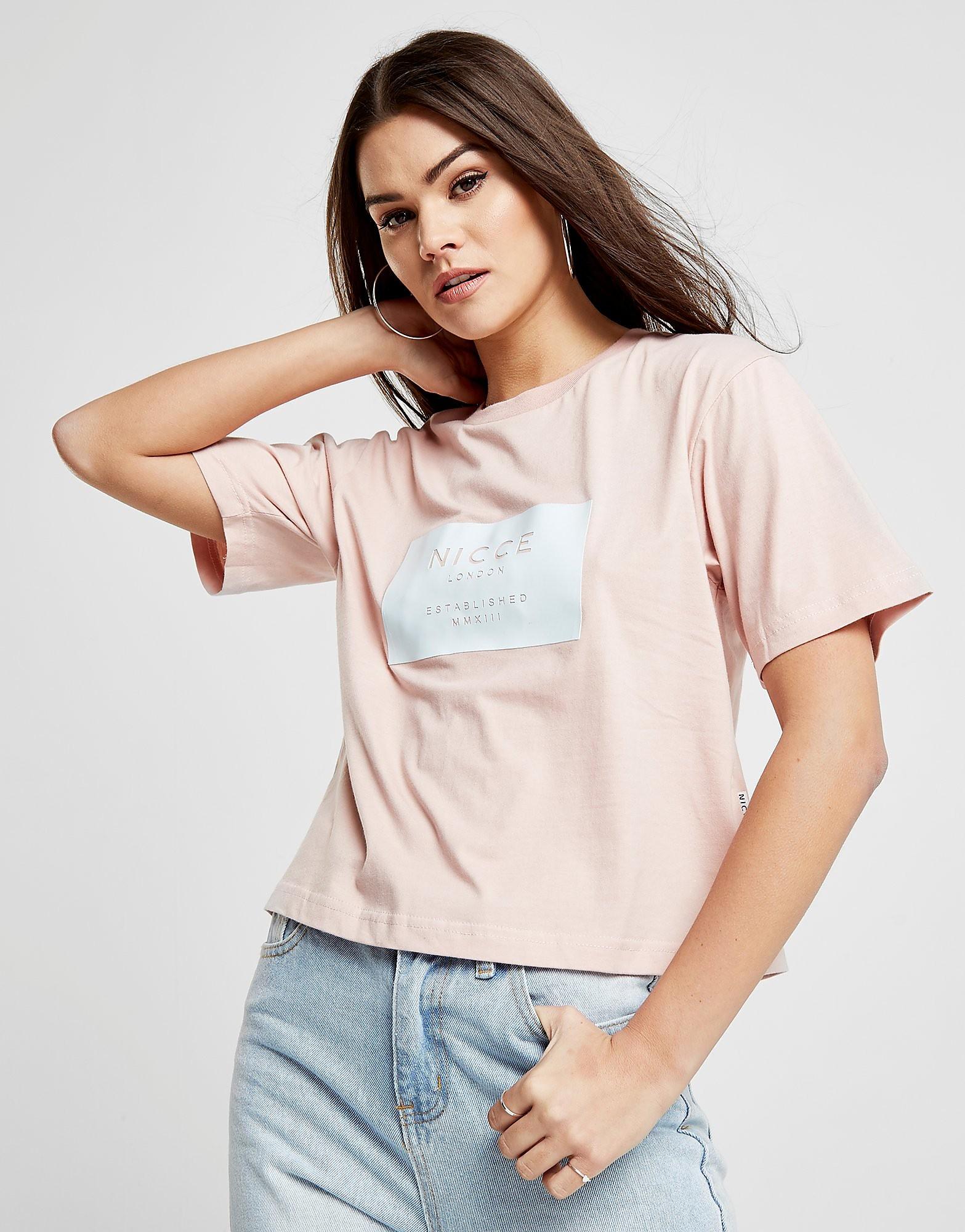 Nicce Box Crop T-Shirt
