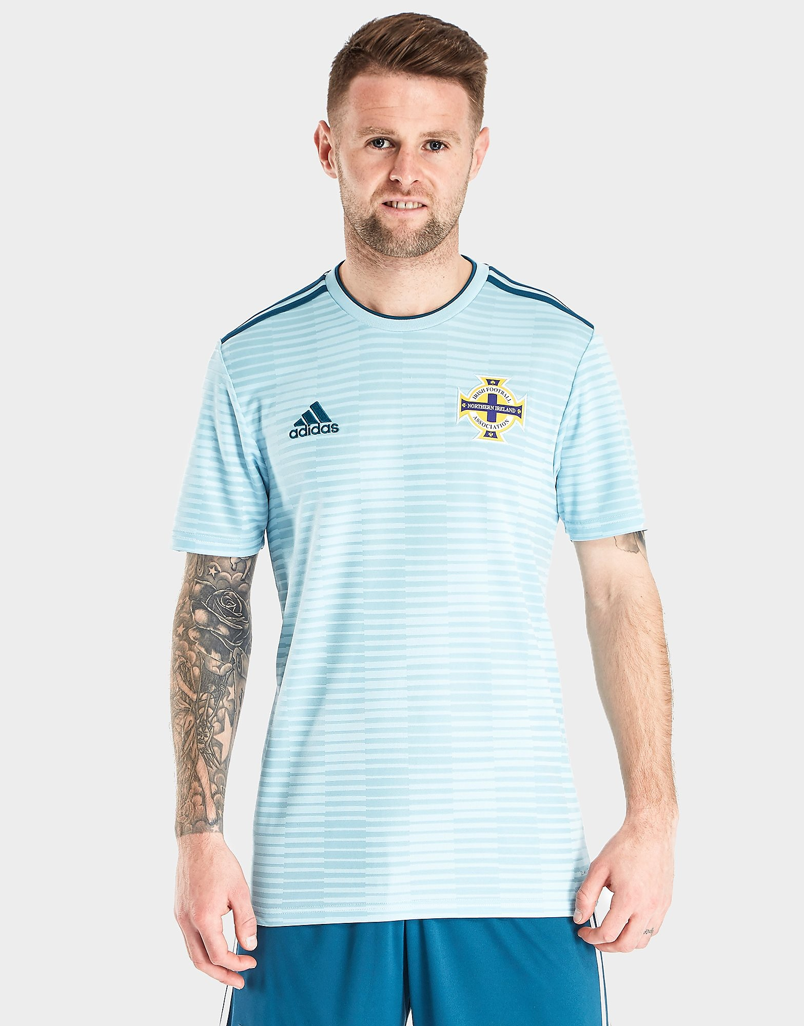 adidas Northern Ireland 2018 Away Shirt Heren