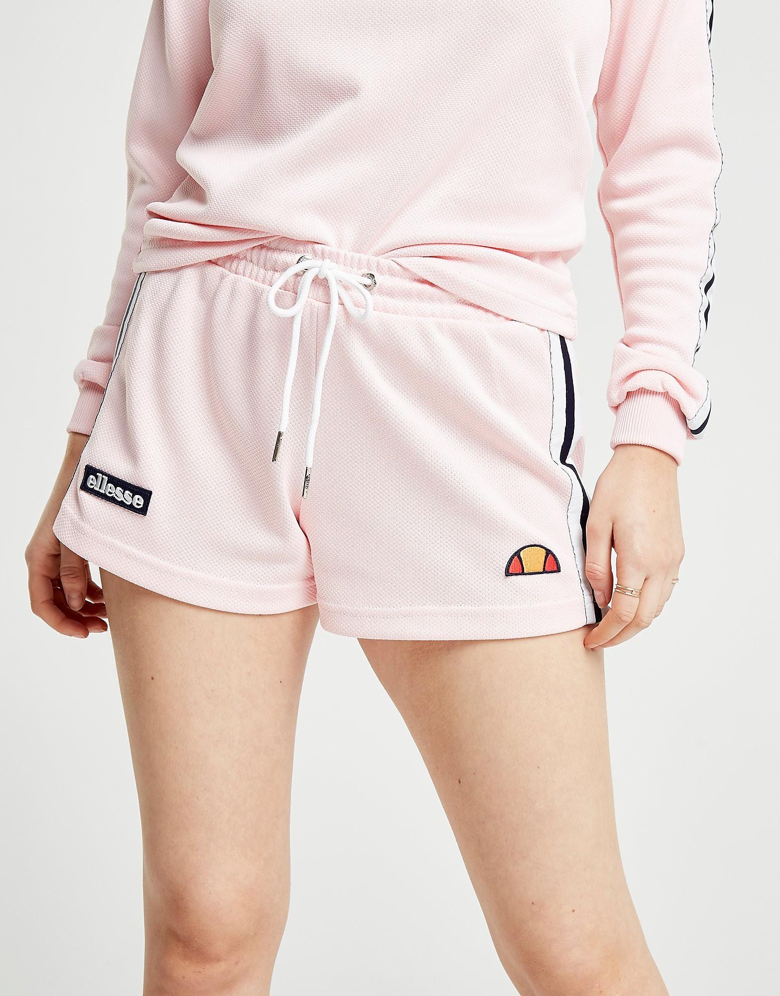 Ellesse Stripe Pique Shorts Dames