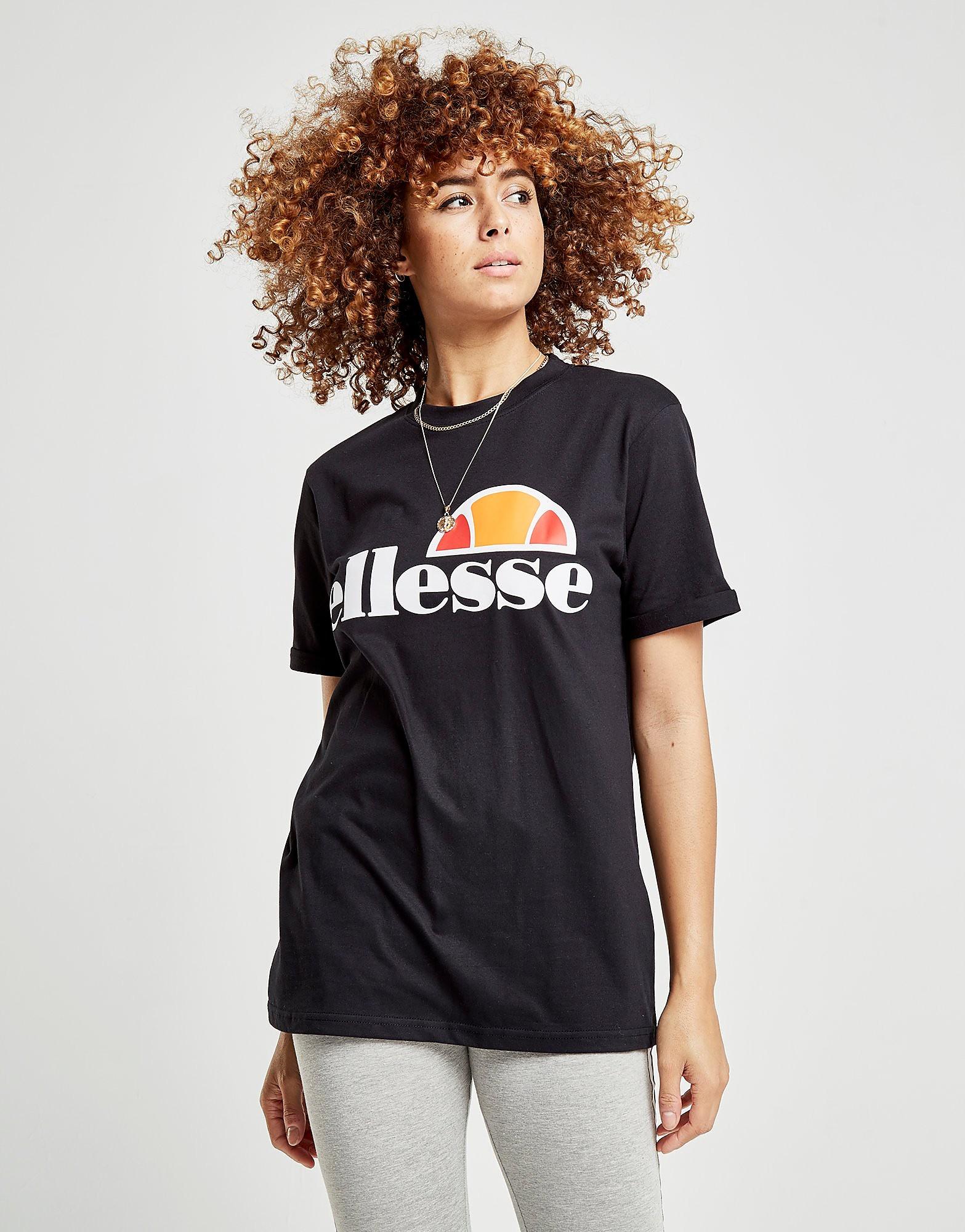 Ellesse Core Logo Boyfriend T-Shirt Dames