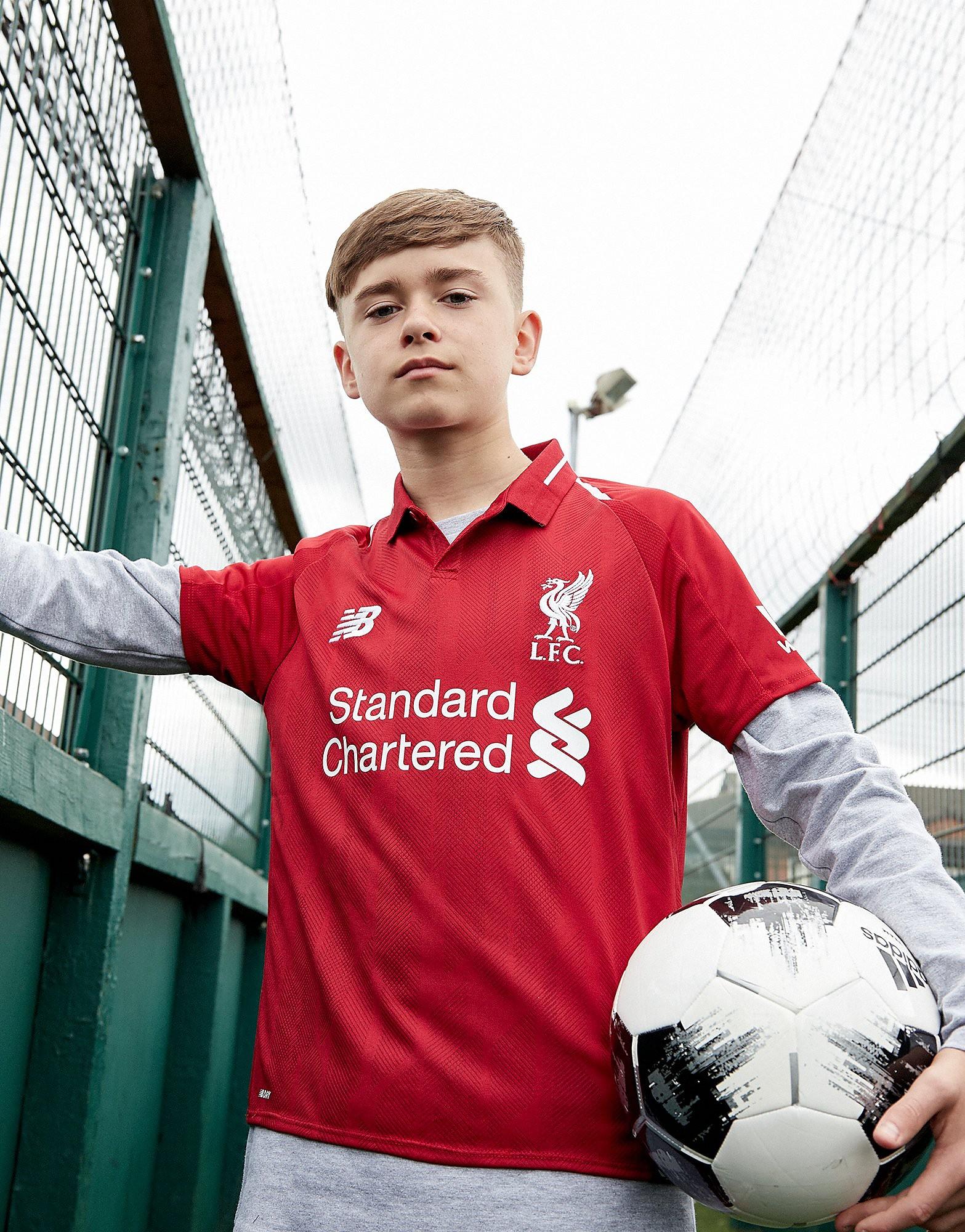New Balance Liverpool FC 2018 Home Shirt Junior