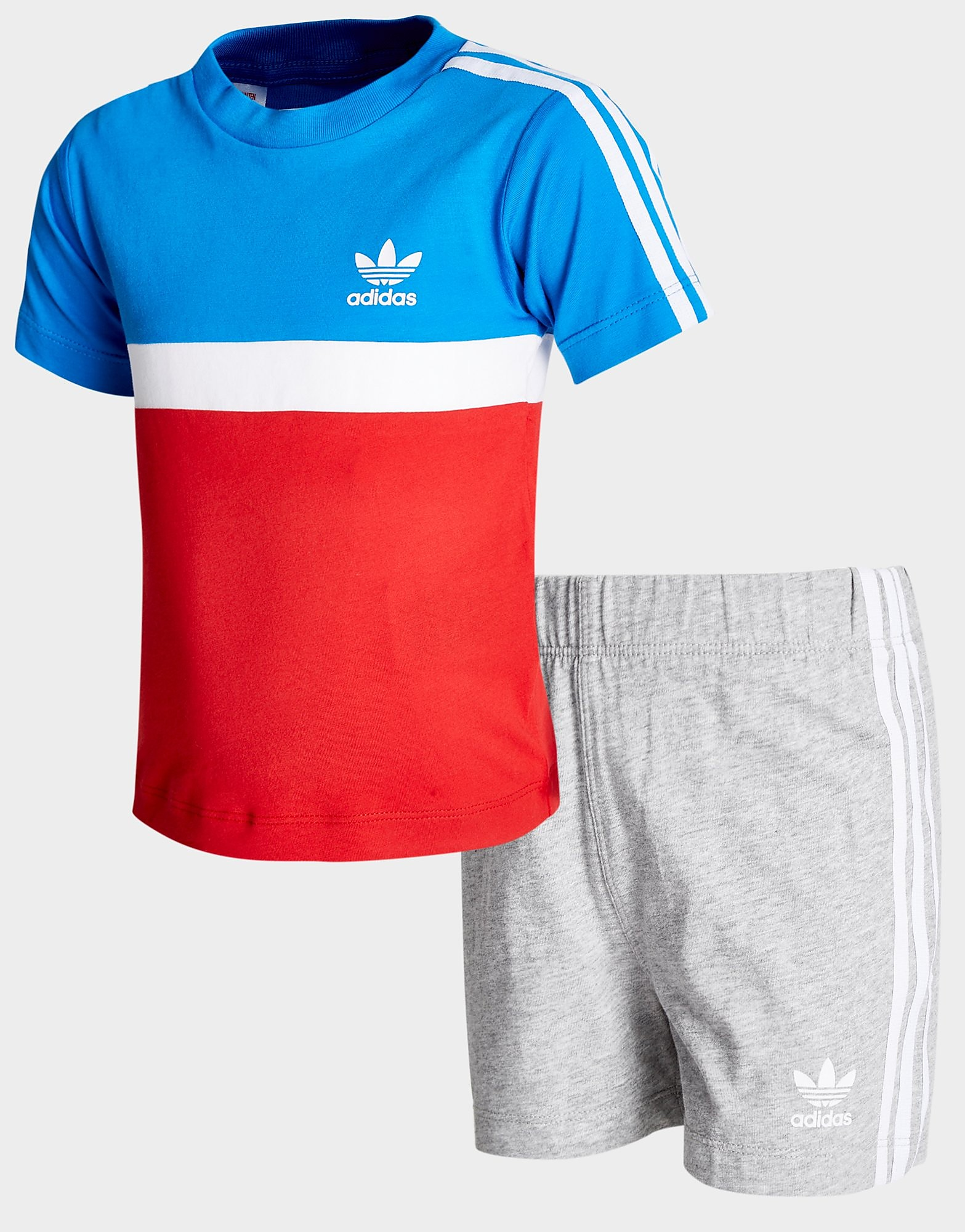 adidas Originals Itasca T-Shirt/Shorts Set Baby's
