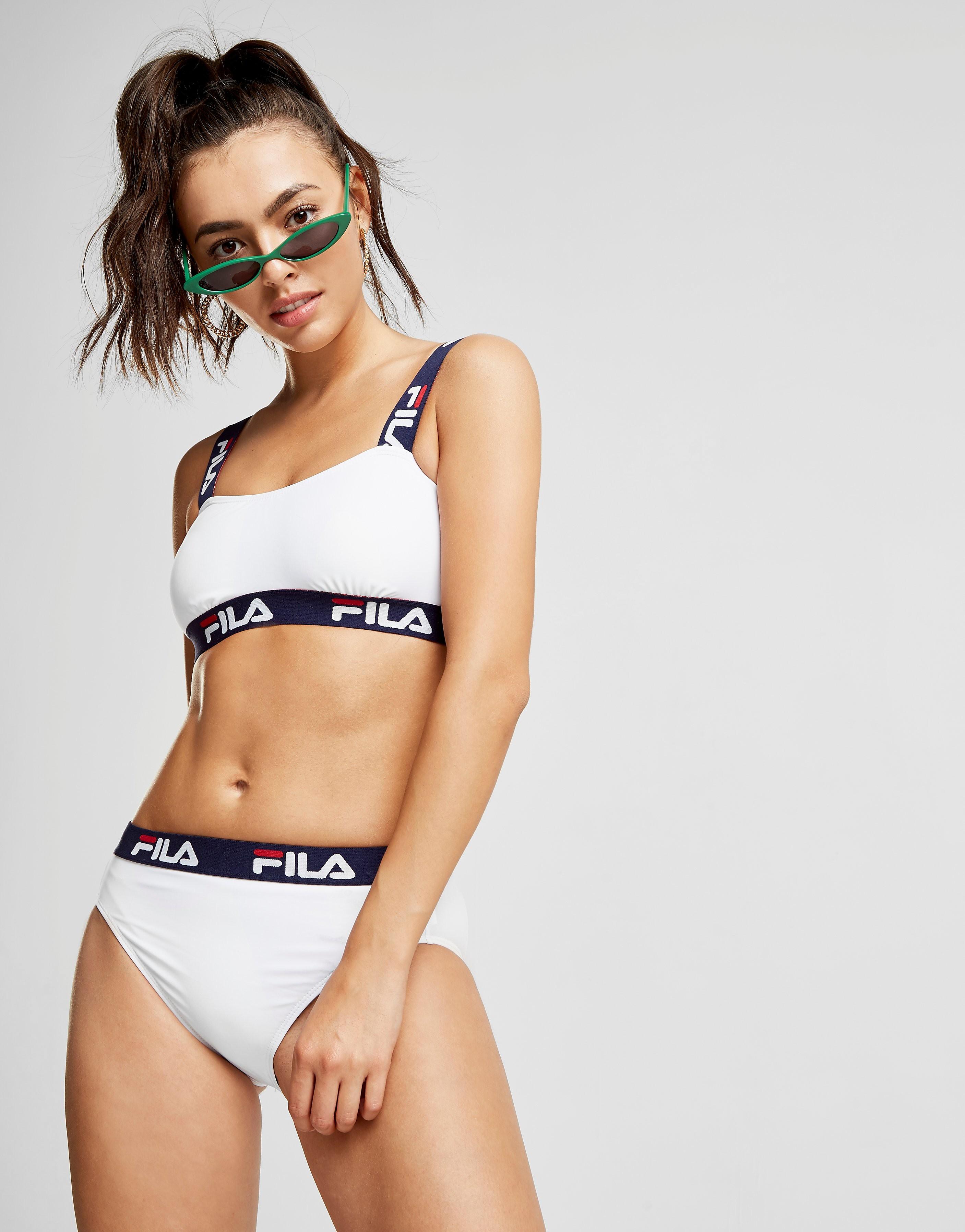 Fila Tape Bikini Bottom Dames