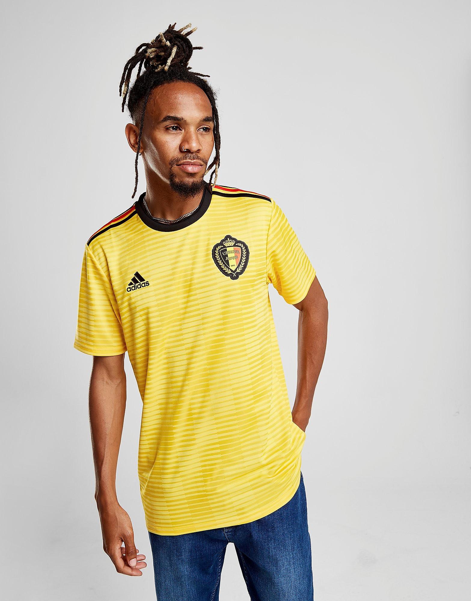 adidas Belgium 2018 Away Shirt Heren