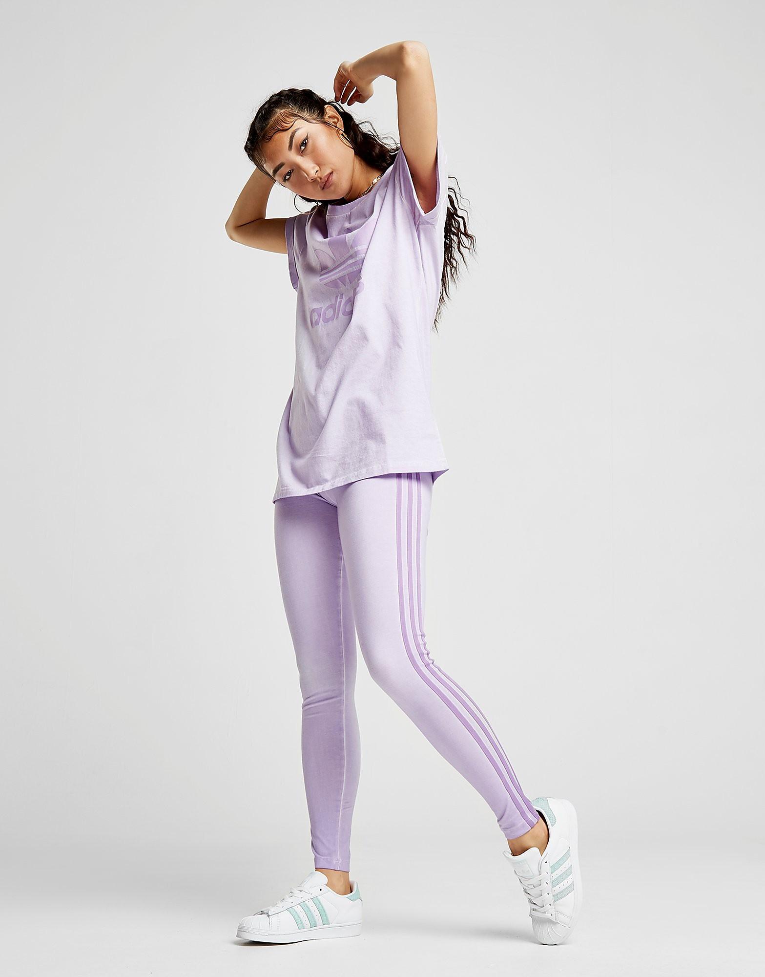 adidas Originals Tie-Dye Loose Boyfriend T-Shirt Dames
