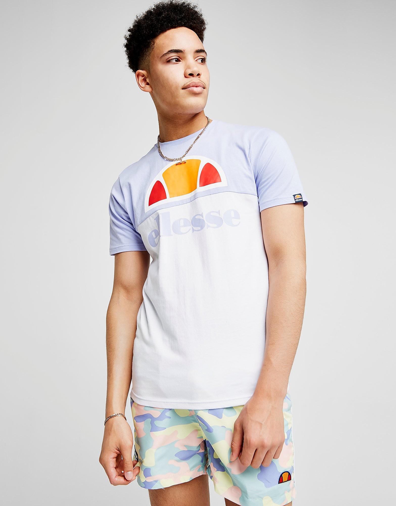 Ellesse Arbatax Colour Block T-Shirt Heren