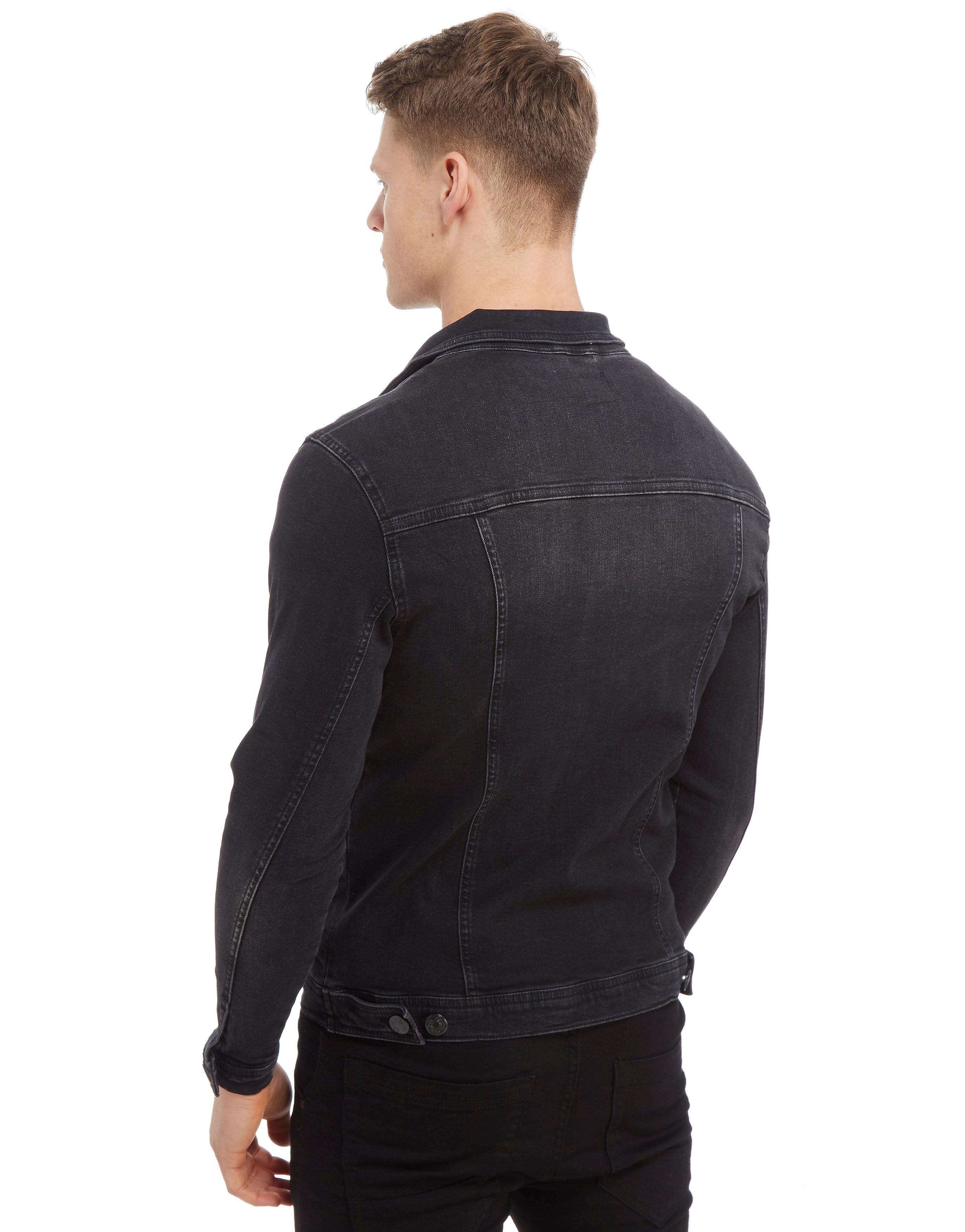 11 Degrees Denim Washed Jacket Heren