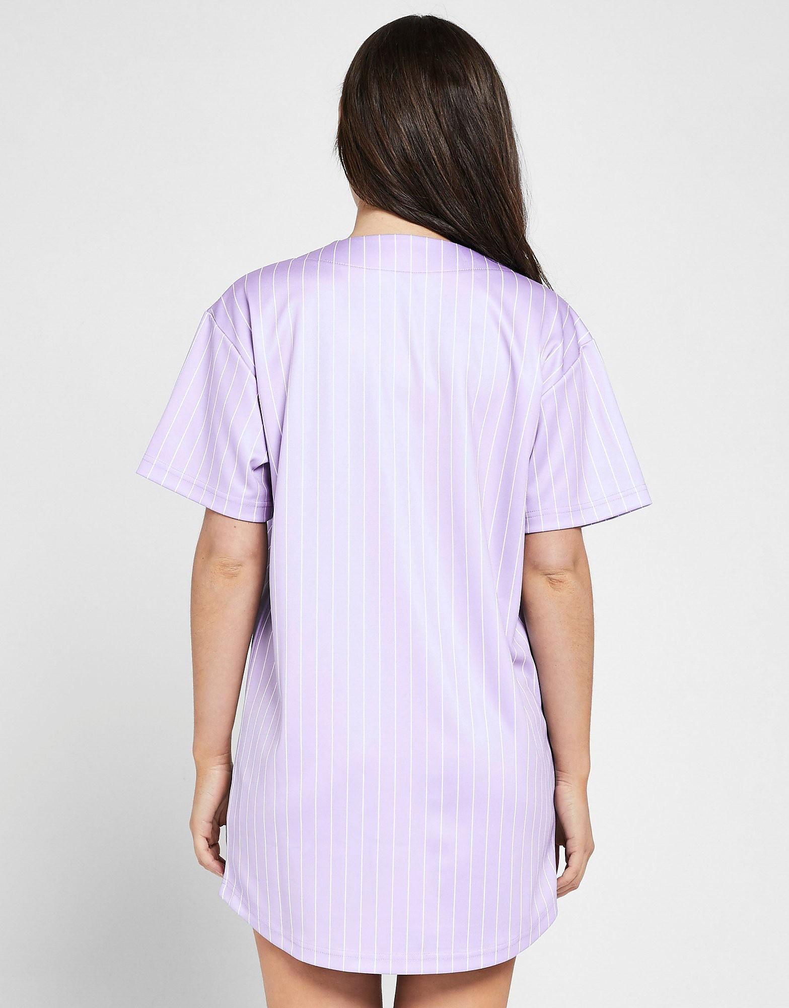 SikSilk Baseball Stripe Dress