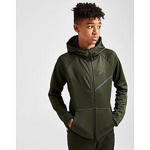 0b4b85d523f5 Nike Tech Poly Full Zip Hoodie Junior ...