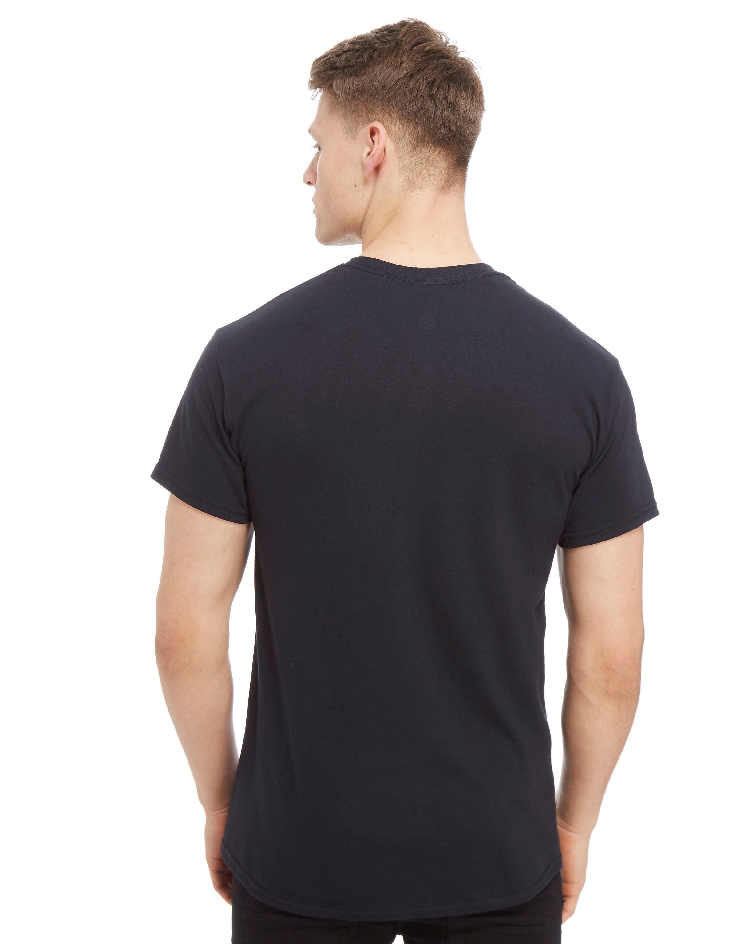 Official Team Real Madrid Stack Short Sleeve T-Shirt Heren