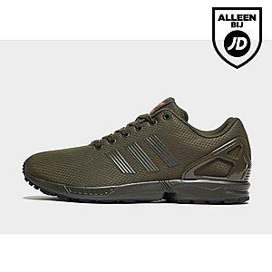 adidas zx flux groen heren