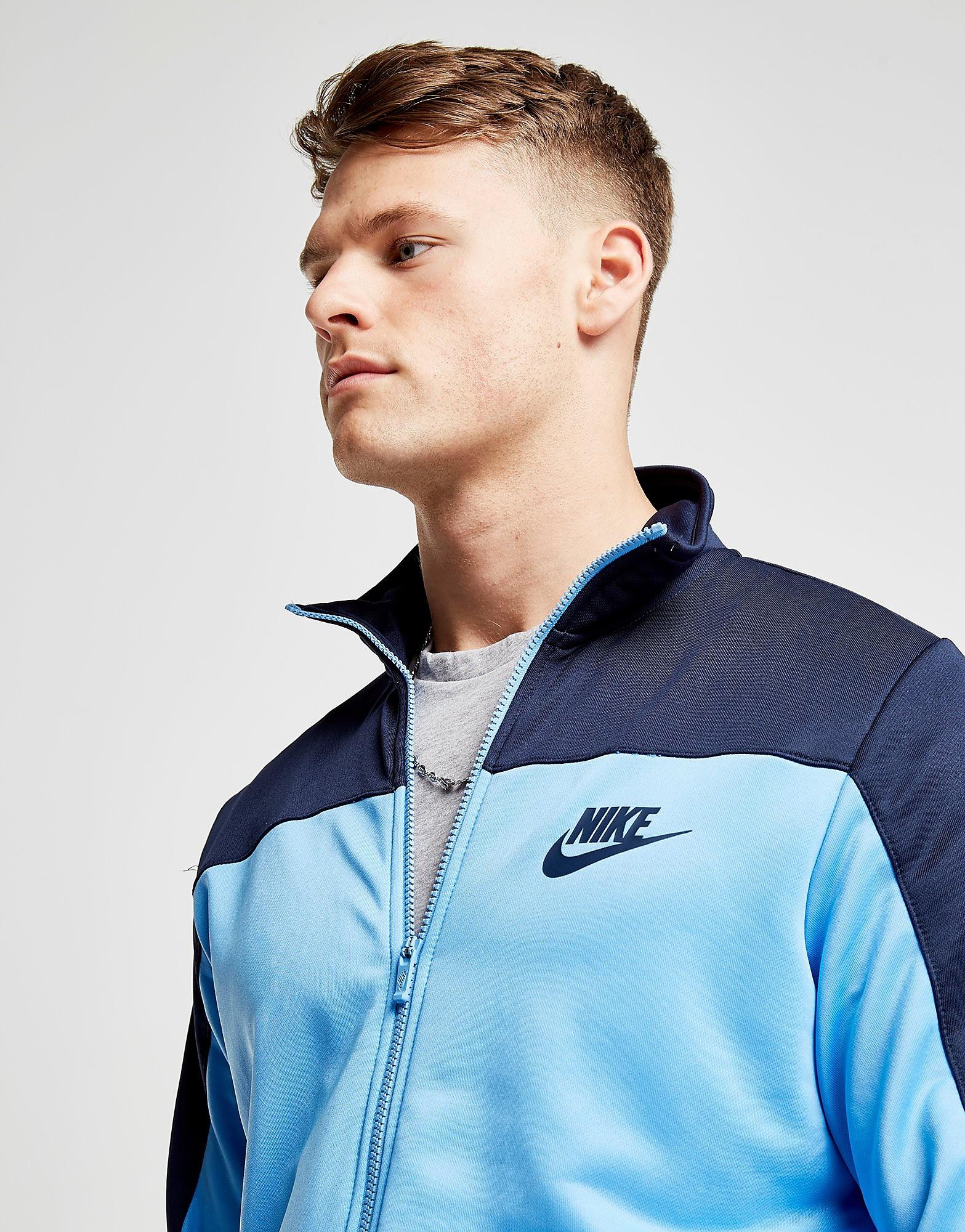 Nike Season Colourblock Poly Track Top Heren